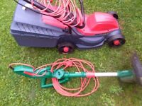 Soverign lawnmower qualcast strimmer