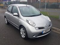 Nissan Micra Full Service History-Automatic 5824 Miles, AC, 1 Owner From New, £2995