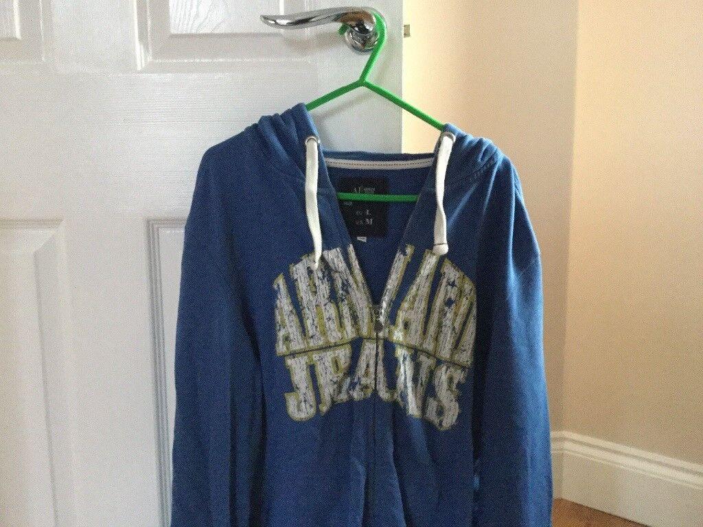 Armani hoodie - large