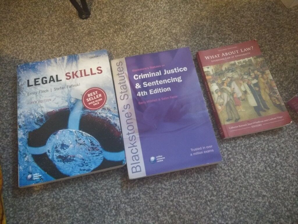 Introduction to studying law books | in Ladbroke Grove, London | Gumtree