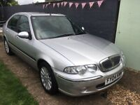 Rover 45 1.8Petrol CVT auto only 32,932miles