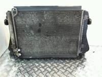 VW PASSAT B6 1.9TDI BXE BKC RADIATOR PACK / WATER RADIATOR INTERCOOLER AC RADIATOR TWIN FAN