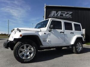 2014 Jeep Wrangler Unlimited Sahara - Automatique - GPS - Toit D