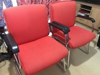 Office / computer Chairs x 3 for Desk or Reception Room
