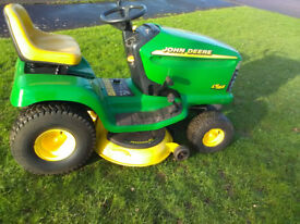 John Deere LT166 in working condition