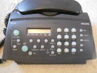 PHILIPS FAX MACHINE - HFC 22 with answering machine