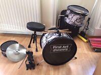 Kids Drum Kit - Incomplete