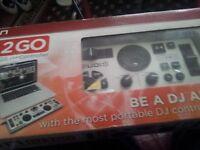 dj to go portable mixer