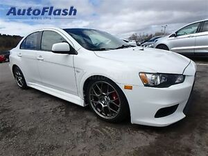 2012 Mitsubishi LANCER EVOLUTION MR 291HP! AWD Rare!!
