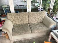 Free 2 seater sofa and armchair must pickup