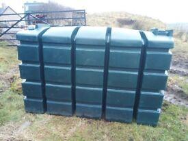 Slimline Oil Tank