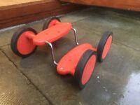Pedal walker toy