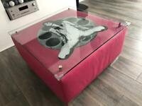 Art Coffee Table by Artist Ben Allen Furniture