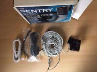 SENTRY TV Camera Security System