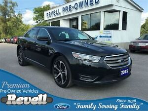 2015 Ford Taurus SEL AWD... Moonroof, Leather bkts, Nav, Remote