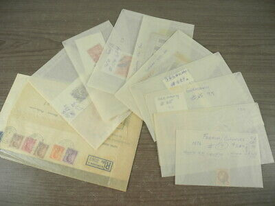 BRITISH COLONIES, CANADA(Revenue, orginal), Excellent assortment of Stamps in