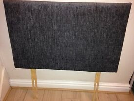 Grey fabric headboard from dreams. In excellent condition