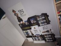 KINGDOM HEARTS 1.5 & 2.5 ReMix - Promotional retail display + poster + cubes x5