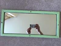 Vintage Railway Carriage Mirrors (1 Pair)