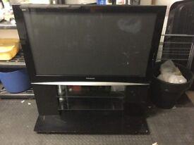 Panasonic 46inch Plasma TV with stand