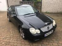 2005 55 Mercedes C200 Sport Coupe Auto with Full Leather