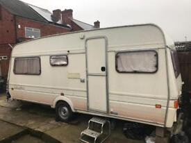 Fleetwood 5 birth caravan may swop for a bmw why