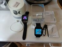 For sale Sony smartwatch 3 nearly new(unwanted gifts drawer) comes with free DZ09 cheap smartwatch