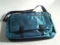 Green laptop or document bag - NEW