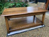 Harrods Oak Room Vintage Coffee Table
