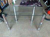 Glass TV Stand Bargain @ £10