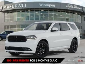 2017 Dodge Durango GT BLACKTOP: ACCIDENT FREE, ALBERTA VEHICLE