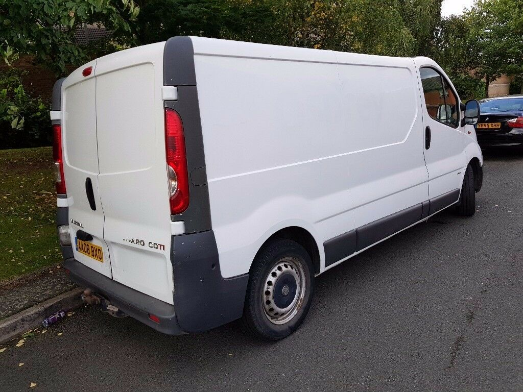 VAUXHALL VIVARO LONG WHEEL BASE 2,0 CDTI 2008 WHITE LONG MOT 2 OWNERS STARTS AND DRIVES MAY P/X