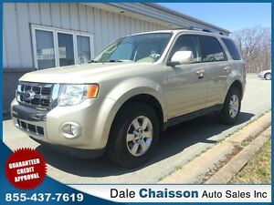 2011 Ford Escape Limited 3.0L V6, 4x4 Leather, Sumroof