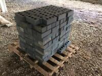 Blue engineering bricks (550 of)