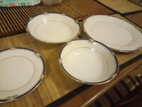 Noritake impression China plates and bowls