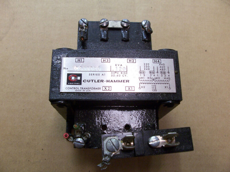Cutler Hammer C34DNG Control Transformer KVA 120