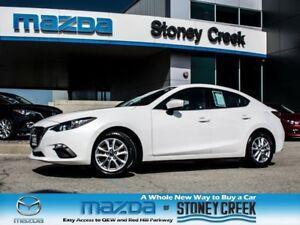 2014 Mazda MAZDA3 GS AUTO,NEW F/BRKS,LOW KM,HEATED,1 OWNER,ACC F