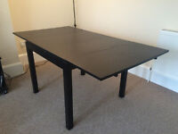 Extendable dining table, seats 2-4, IKEA Bjursta excellent condition