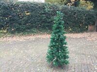Slim Pine Green Christmas Tree
