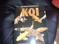 lots of koi keeping books job lot
