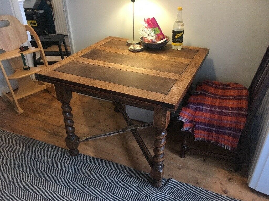 Dining Room Table 90cm x 90cm Extendable