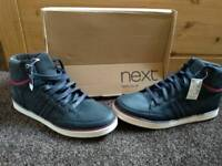 New size 9 mens navy Next trainers shoes footwear