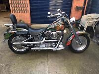 Harley Davidson 1340 cc fat boy Evolution 1993.