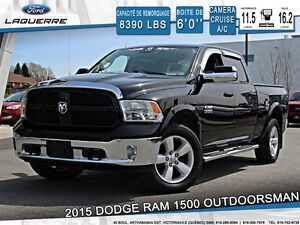 2015 Ram 1500 **OUTDOORSMAN*4X4*CAMERA* CRUISE*A/C**