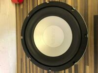 """Infinity 10"""" Subwoofer & Amp"""