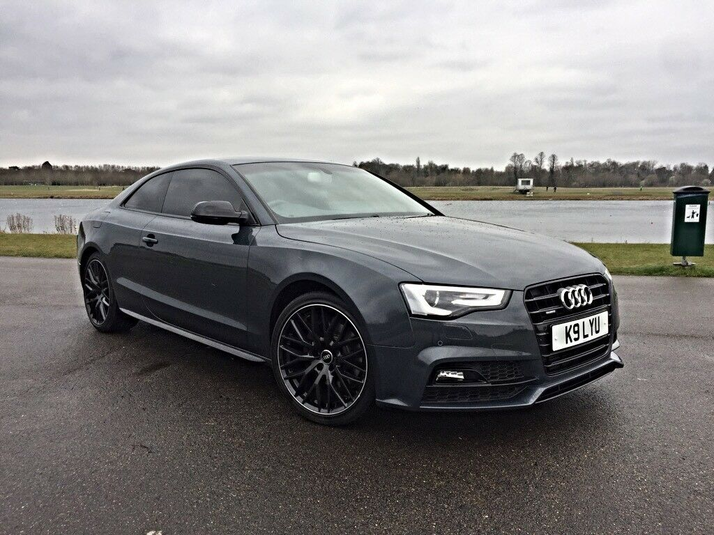 audi a5 s line 3 0 tdi quattro black edition sport plus. Black Bedroom Furniture Sets. Home Design Ideas