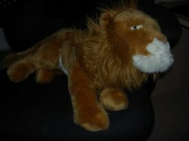 Gorgeous lion soft toy