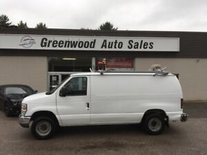 2011 Ford E-150 Commercial -storage racks, ladder rack, safet...