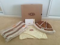 Ugg Style Hat & Scarf Set - New In Box