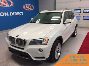 2014 BMW X3 RARE 35i XDRIVE! HUGE SUNROOF! FINANCE NOW!